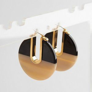 henri bendel Jewelry - Henri Bendel Color Resin Round Stud Earrings